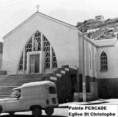 POINTE PESCADE - L'Eglise