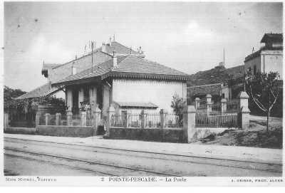 POINTE PESCADE - La Poste