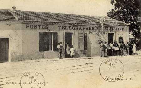 PORT-aux-POULES - La Poste