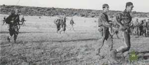 """Commando de Chasse P14 Source: livre """"Ma guerre en Kabylie"""" 1962 - Marc WALLEYRAND"""