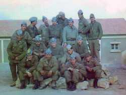 Camp Suzzoni en 1961 (Boghar) Tirailleurs du 1er RTA