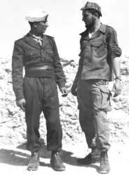 Bordj-Oultem en 1960 A droite Paul ISEL