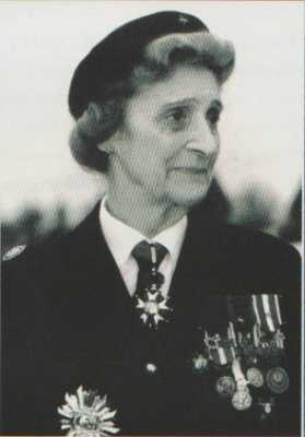 Comtesse Ladislas du Luart - Maraine du 1er REC