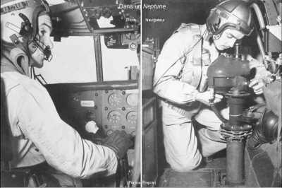 """Pilote et Navigateur dans un """"NEPTUNE"""""""