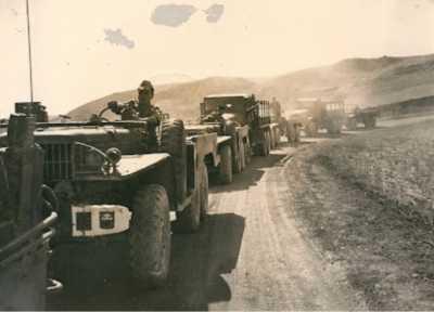 Convoi du commando.
