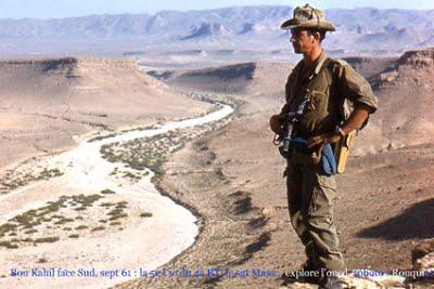 Bou Kahil en septembre 1961  Le sergent MASSEY