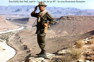 Bou Kahil  en septembre 1961  Le Sous-Lieutenant ROUQUIER