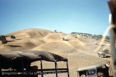 PAUL CAZELLES - Djebel Mongorno  En novembre 1961  sur une mauvaise piste !