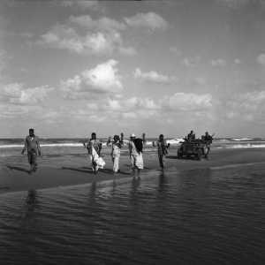 Egyptiens faits prisonniers  par une patrouille de paras  en novembre 1956.  Photo Paul Corcuff.