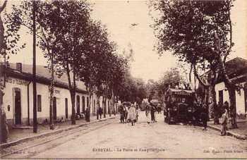 REBEVAL - La Poste et la rue Principale