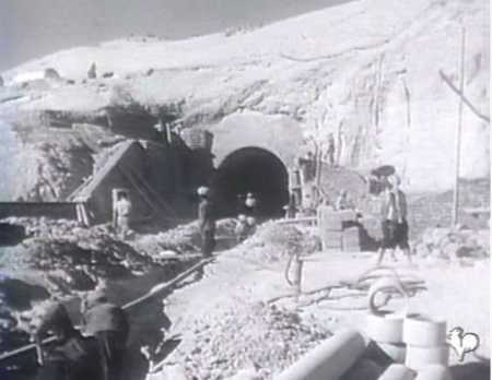 REGGANE - Construction de tunnels