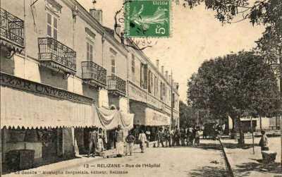 RELIZANE - Rue de l'Hopital