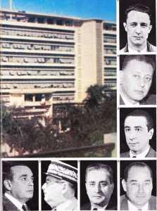 Les Responsables en place au 1er Novembre 1954