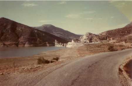 Le barrage de Zardesas