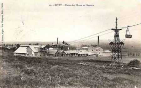 RIVET - Usines de Chaux et Ciment