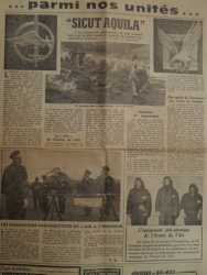 Extrait d'un article d'un quotidien sur les Commandos Parachutistes de l'Air