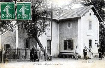 ROUINA - La Gare