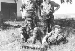 Sous officiers des Transmissions en 1962 au Domaine de Saoudi