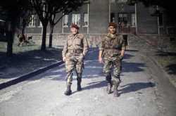 Deux paras au domaine de Saoudi en 19962