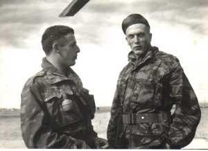 Sergent LEMINEUR et Lieutenant SOUETRE