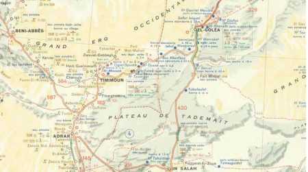 BENI-ABBES - EL GOLEA - TIMIMOUN - ADRAR - IN SALAH