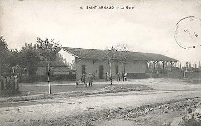 SAINT ARNAUD - La Gare