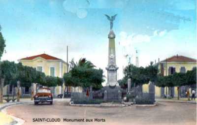 SAINT CLOUD - Le Monument aux Morts