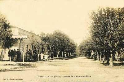 SAINT LUCIEN - Avenue de la Commune Mixte