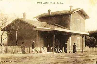 SAINT LUCIEN - La GARE