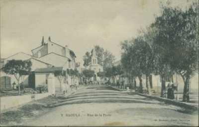 SAOULA - La rue de la Poste