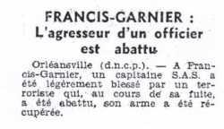 30 Octobre 1956 - Francis-Garnier