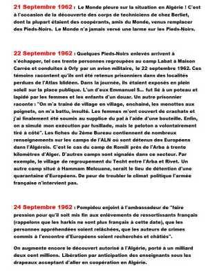 21 au 24 Septembre 1962