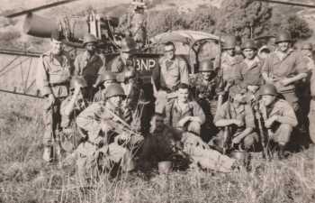 Tirailleurs en 1962