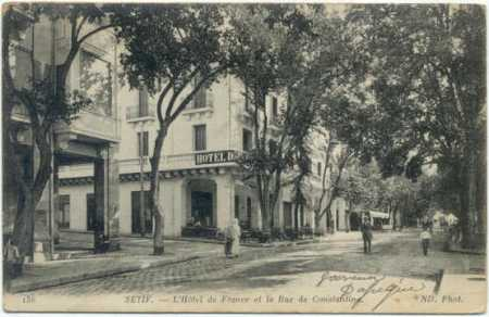 SETIF  - Hotel de France