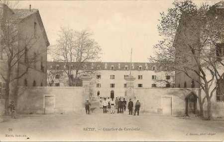 SETIF - Quartier de la Cavalerie