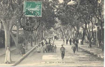 SETIF - Rue de Constantine