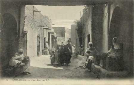 SIDI OKBA - Une rue