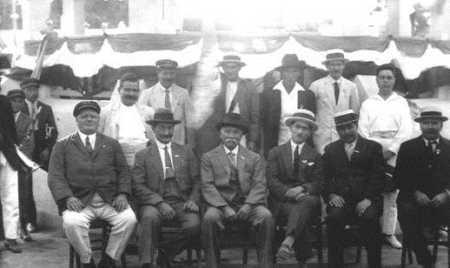 STAOUELI - 1922 - Le Conseil Municipal