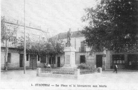 STAOUELI - Le Monument aux Morts