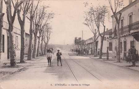 STAOUELI - Sortie du Village