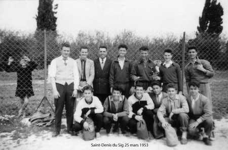 SAINT DENIS DU SIG - 25 MARS 1953