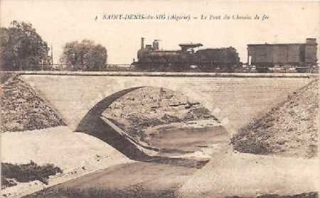 SAINT DENIS DU SIG - Le Pont de Chemin de fer