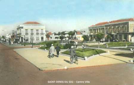 SAINT DENIS DU SIG - Centre ville