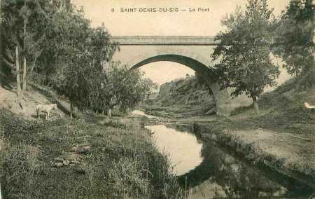 SAINT DENIS du SIG - le pont routier