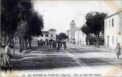 Rue de SIDI-BEL-ABBES