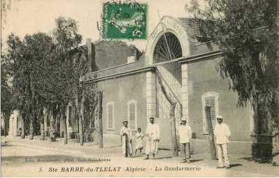 STE BARBE DU TLETAT - La Gendarmerie