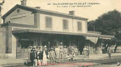 Ste BARBE du TLETAT - La Gare