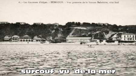 SURCOUF - Vu de la Mer