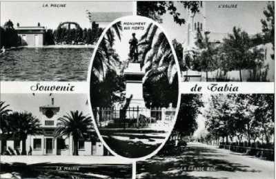 TABIA - Carte Postale vers 1950