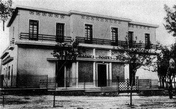 TEBESSA - La Poste en 1951